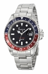 Freelook Sea Diver Black Dial Red/Blue Bezel Watch HA5305-6