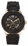 Freelook Aquamarina Royale RG/Black Chrono Watch HA9083CHB-RG1