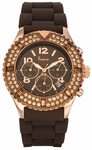 Freelook Aquamarina Royale Brown Dial Watch HA9083CHRB-3