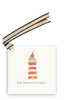 New England Lighthouse - Gift Tags