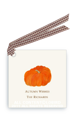 Heirloom Pumpkin - Gift Tags