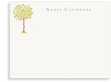 Lemon Tree - Flat Note cards