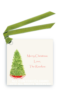 Christmas Tree - Gift Tags