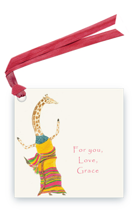 Dancing Giraffe - Gift Tags