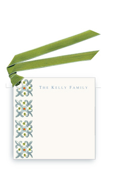 Tapestry-Fleu de Lys - Gift Tags