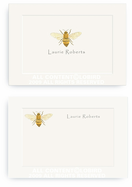 Bee - Enclosure Cards