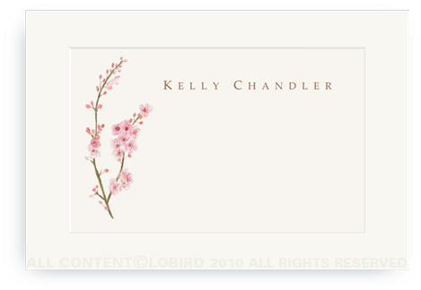 Cherry Tree Blossom - Enclosure Cards