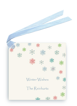 Snowflakes - Gift Tags
