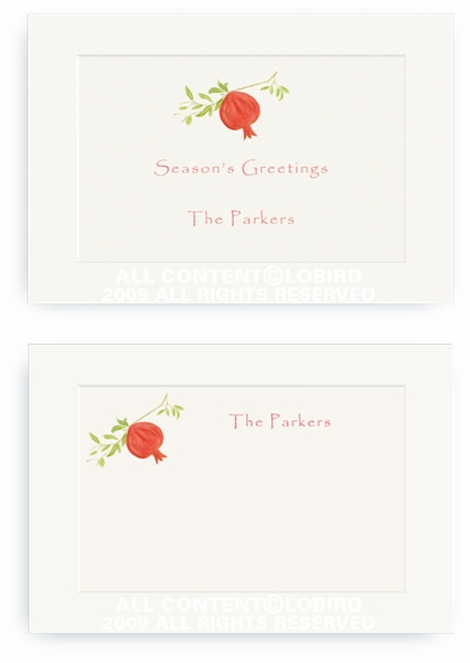 Pomegranate - Enclosure Cards