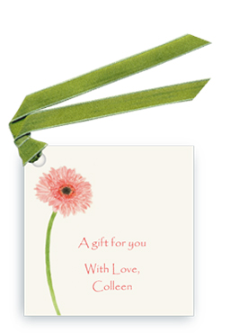 Gerber Daisey - Gift Tags