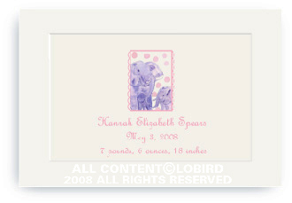 Elephant Mother and Child - Enclosure Cards