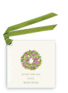 Spring Wreath - Gift Tags