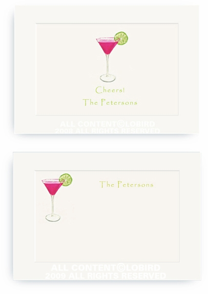 Cosmo with Lime - Enclosure Cards
