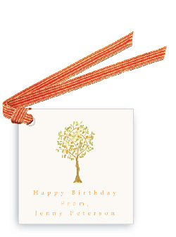 Tangerine Tree - Gift Tags