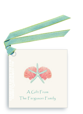 Shell Mix 1 - Gift tags