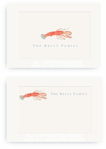 Lobster - Enclosure Cards