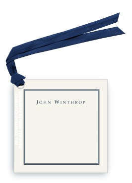 Classic with Border - Gift Tags