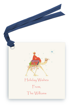 Wise Man on Camel - Gift Tags