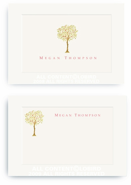 Pomegranate Tree - Enclosure Cards
