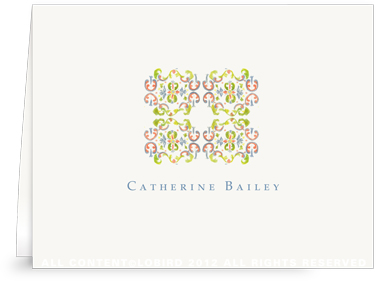 Tapestry - Paloma - Folded Note Cards