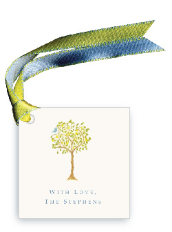 Lemon Tree with Bird - Gift Tags