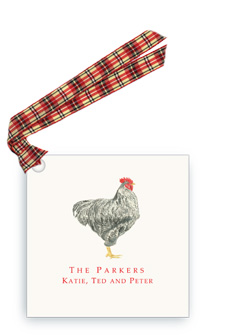Plymouth Rooster - Gift Tags