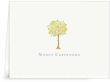 Lemon Tree - Folded Note Cards