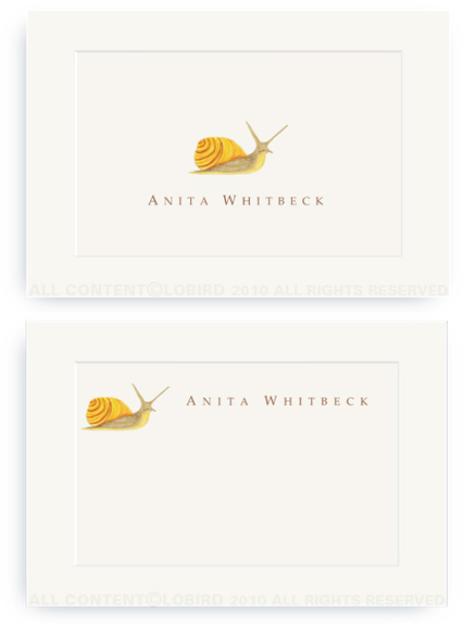 Garden Snail - Enclosure Cards