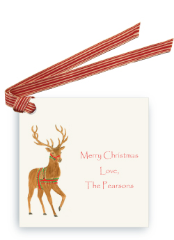 Holiday Reindeer - Gift Tags