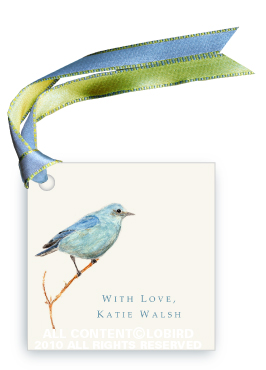 Mountain Blue Bird - Gift Tags