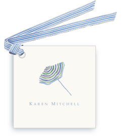 Beach Umbrella - Gift Tags