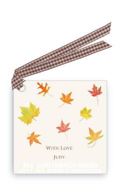 Autumn Leafs - Gift Tags