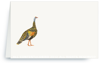 Wild Turkey - Place Cards