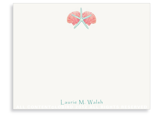 Shell Mix - 1 - Note Cards