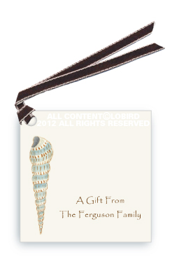 Cone Shell - Gift Tags
