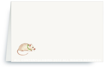 Holiday Mouse - Placecards