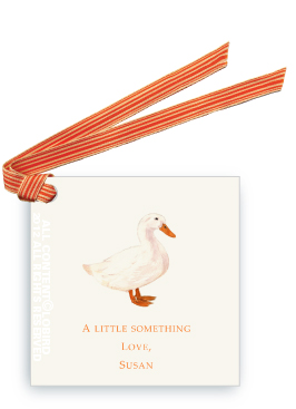 White Duck - Gift Tags