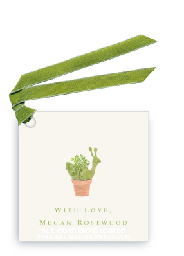 Snail Topiary - Gift Tags