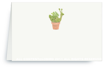 Small Topiary - Placecards
