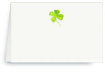 Four Leaf Clover - Place Cards