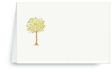 Lemon Tree - Place cards