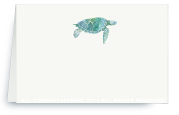Sea Turtle - Place cards