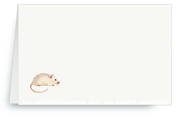 Tiny Mouse - Placecards