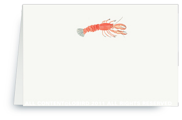 Lobster - Place Cards