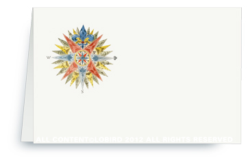 Compass Rose - Place Cards