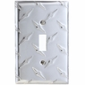 Diamond Plate Wallplates