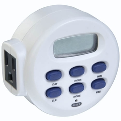 Single Outlet Digital Timer - Grounded