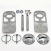 05-09 Mustang Billet Radiator Hood Pin Hold Down Kit