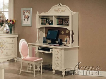 Computer Desk by Acme Furniture Doll House Collection 491-2191