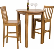 "Pub Table 36""R X42""H by Sunny Designs Furniture Sedona Collection 441-1278RO"